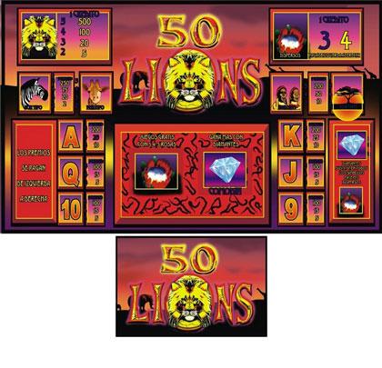 50 LEONES