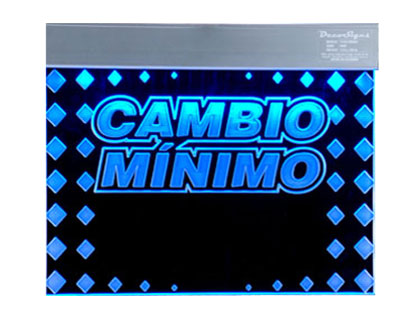 CAMBIO MINIMO